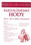 Bartolomějské hody 2016