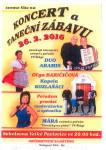Koncert a taneční zábava Velké povlovice 26.2.2016