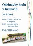 Odehrávky hodů v Krumvíři 2015